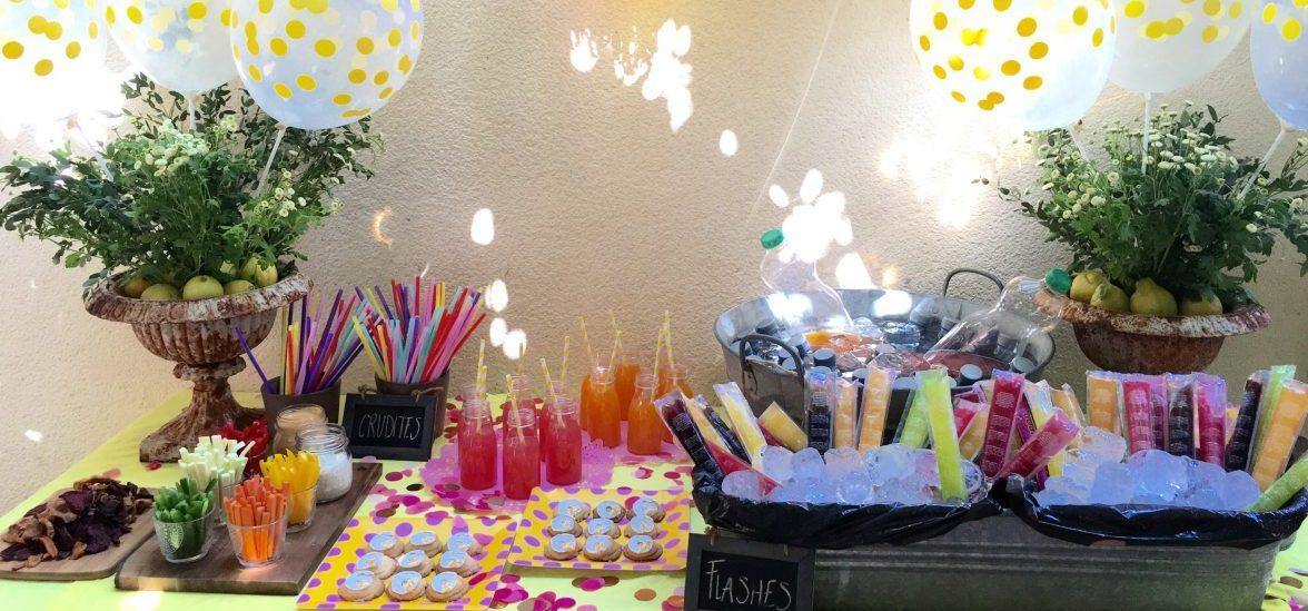 Cumpleaños circo mesa bebidas imagen para slider eventos