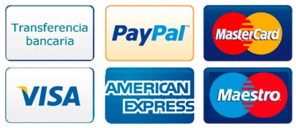 Imagen Formas de pago aceptadas