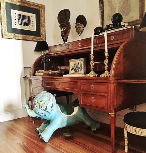 Fotografía para blog elefante azul