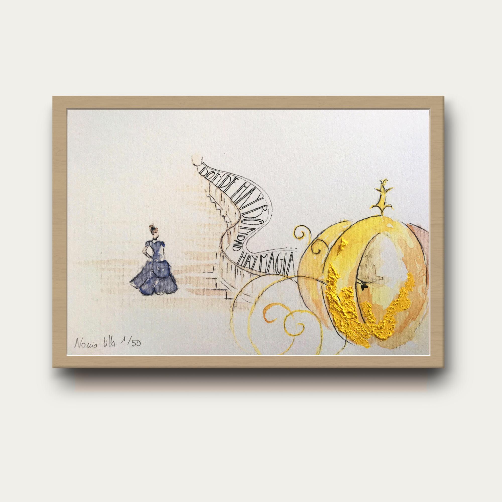 ilustración Cenicienta